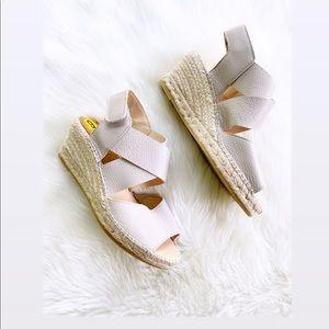 Kanna | Upper Leather Wedge Sandals